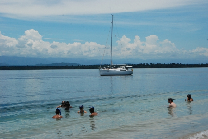 Beaches around Bastimentos in Bocas del Toro