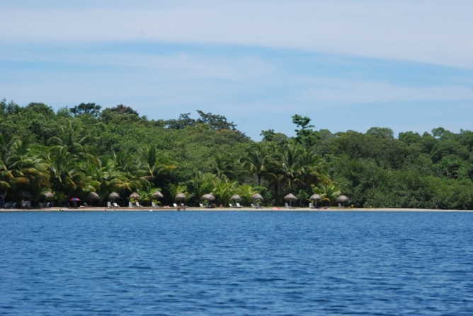 Star Beach in Bocas del Toro