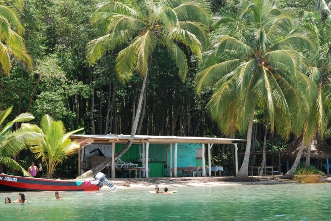 Star Beach in Bocas